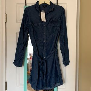 Brand new Denim shirt dress